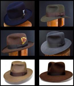 Custom Bespoke Fedora Hut Hat 100x beaver