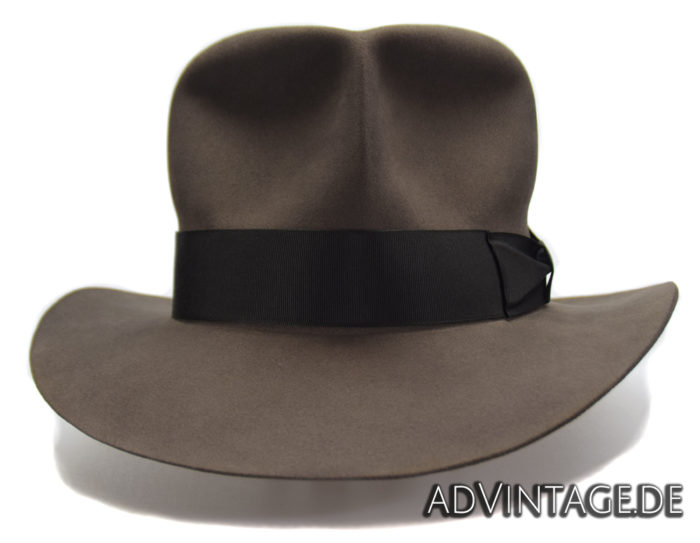 Streets of Cairo Indiana Jones Fedora Hut Hat smoke grey 3