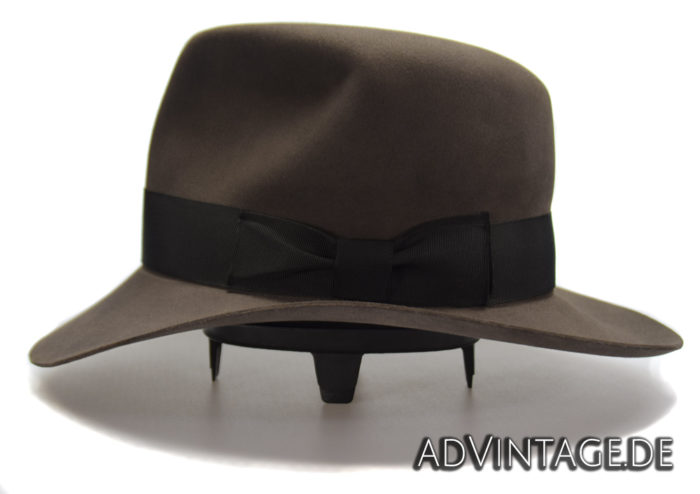 Streets of Cairo Indiana Jones Fedora Hut Hat smoke grey 2