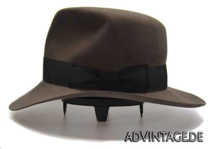 Streets of Cairo Indiana Jones Fedora Hut Hat smoke grey 2
