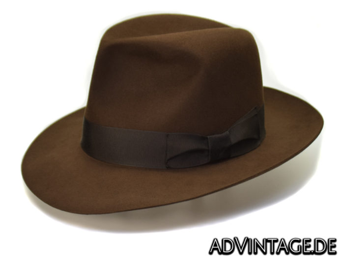 Harrison Indiana Jones fedora Hut Hat 100x 100% Biber beaver 5