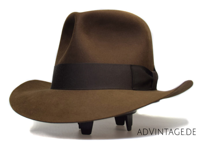 Indiana Jones Temple of Doom Mine Fedora Hat Beaver 1