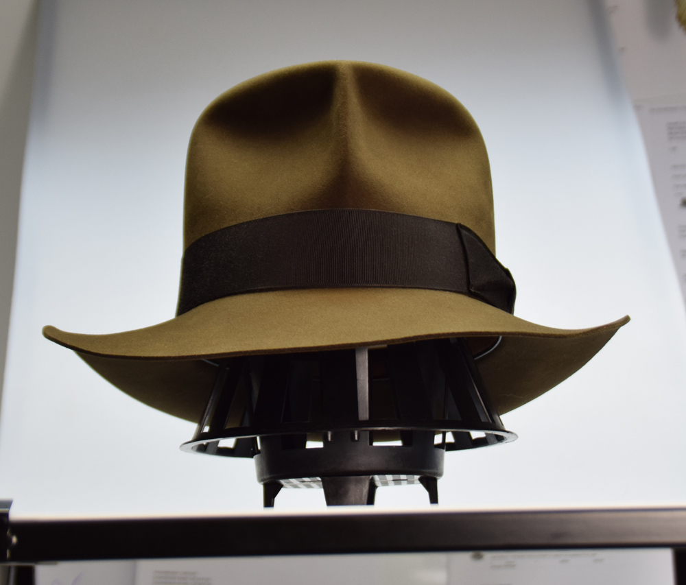 ee303277aaa ✓ New Raider Fedora hat 2017   Laser Engraving – adVintage Hats