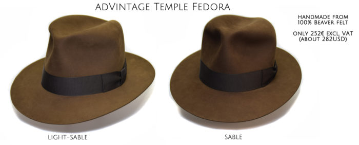Indiana Jones Temple of Doom Fedora Hut 54