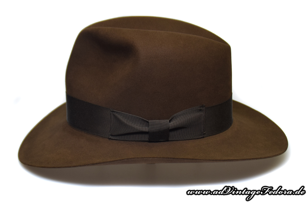 Raider Fedora Indiana Jones Hut Hat without Turn side 3