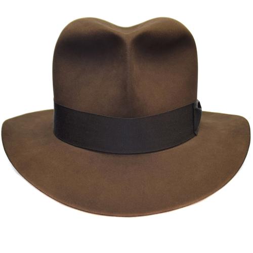 Raider Fedora Indiana Jones Hut Hat with Raiders Turn Front 7