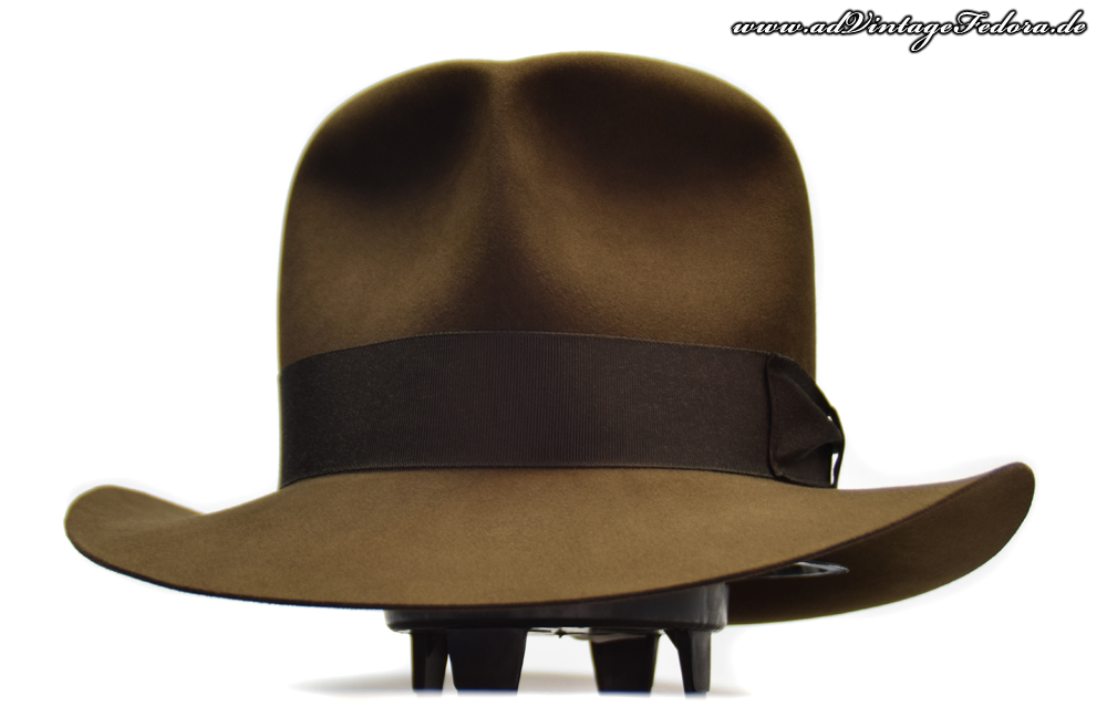 Raider Fedora Indiana Jones Hut Hat without Turn Front