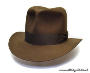 Raider Fedora Indiana Jones Hut Hat without Turn Front side 1