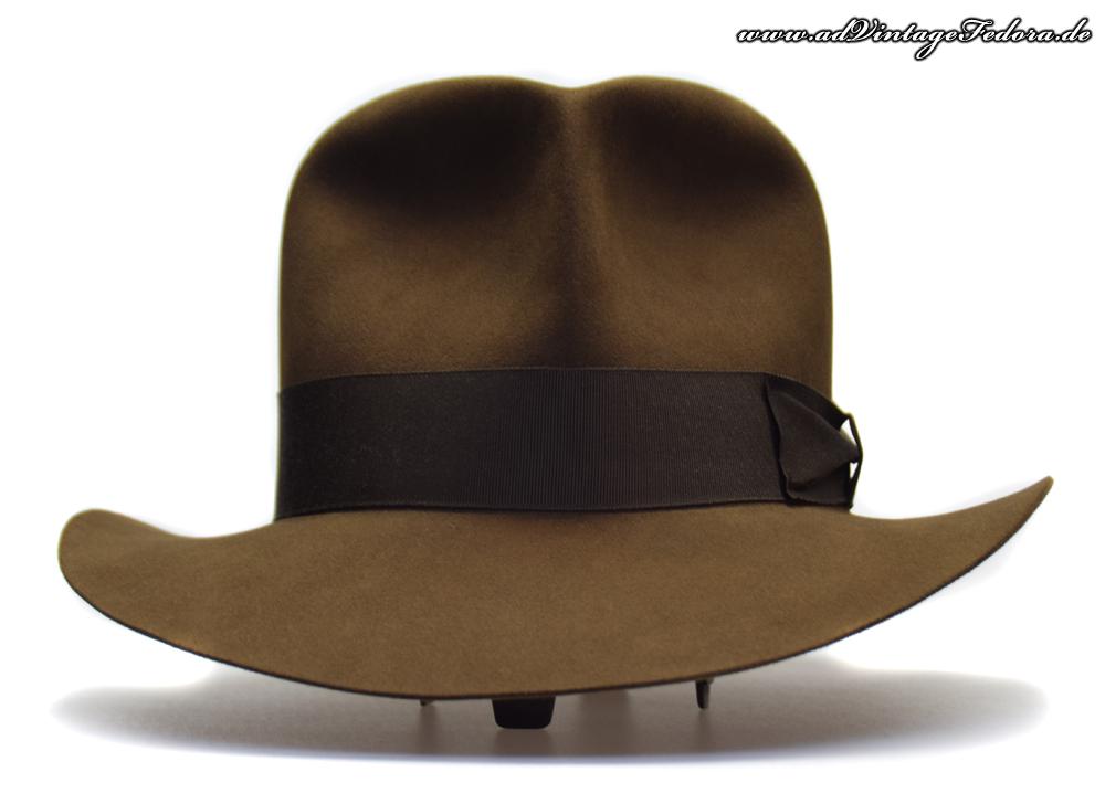 Raider Fedora Indiana Jones Hut Hat with Raiders Turn Front 6