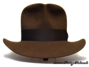 Raider Fedora Indiana Jones Hut Hat with Raiders Turn Front