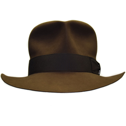 Streets of Cairo Indiana Jones Hut Hat Fedora RotLA Front 4