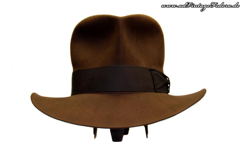 Streets of Cairo Indiana Jones Fedora Hut Hat RotLA Front