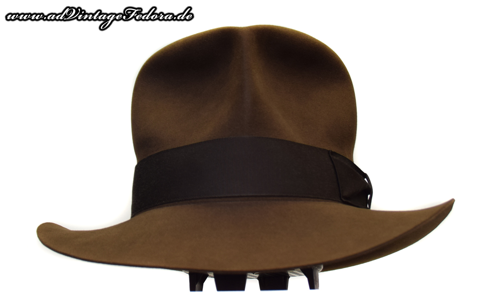 Streets of Cairo Indiana Jones Fedora Hut Hat RotLA Front down