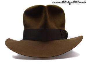 Streets of Cairo Indiana Jones Hut Hat Fedora RotLA Front 2