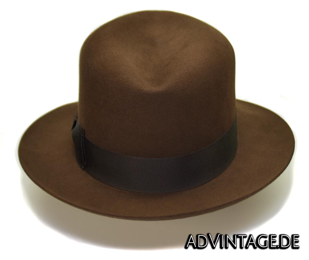 Harrison Indiana Jones fedora Hut Hat 100x 100% Biber beaver 4
