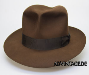 Harrison Indiana Jones fedora Hut Hat 100x 100% Biber beaver 2