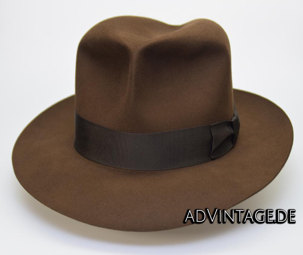 Harrison Indiana Jones fedora Hut Hat 100x 100% Biber beaver 2