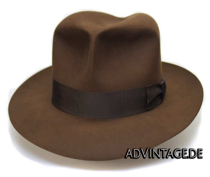 Harrison Indiana Jones fedora Hut Hat 100x 100% Biber beaver 8