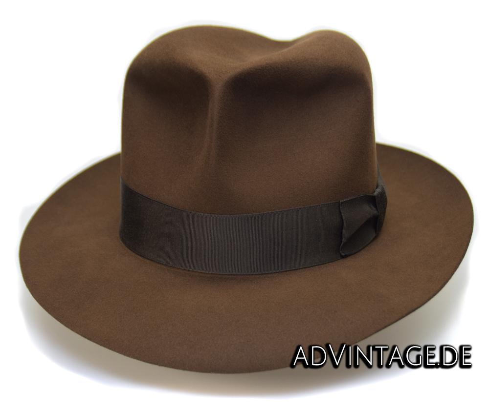 Harrison Indiana Jones fedora Hut Hat 100x 100% Biber beaver 8