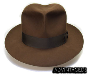 Harrison Indiana Jones fedora Hut Hat 100x 100% Biber beaver kl