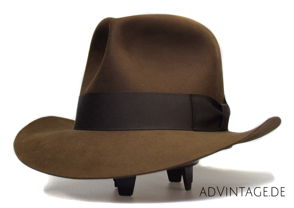 Indiana Jones Temple of Doom Mine Fedora Hat Beaver 1