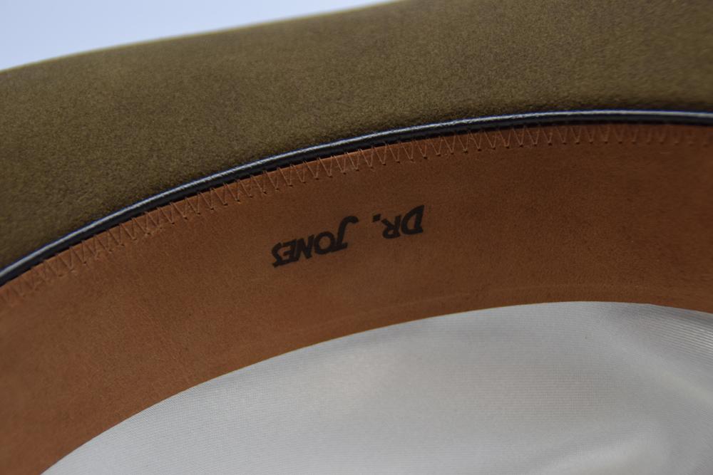 adVintage Fedora hat laser engraving