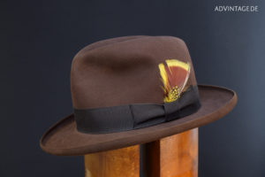 adVintage Fedora Hat pencil roll