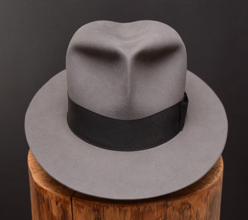 Clipper Fedora hat beaver felt 2