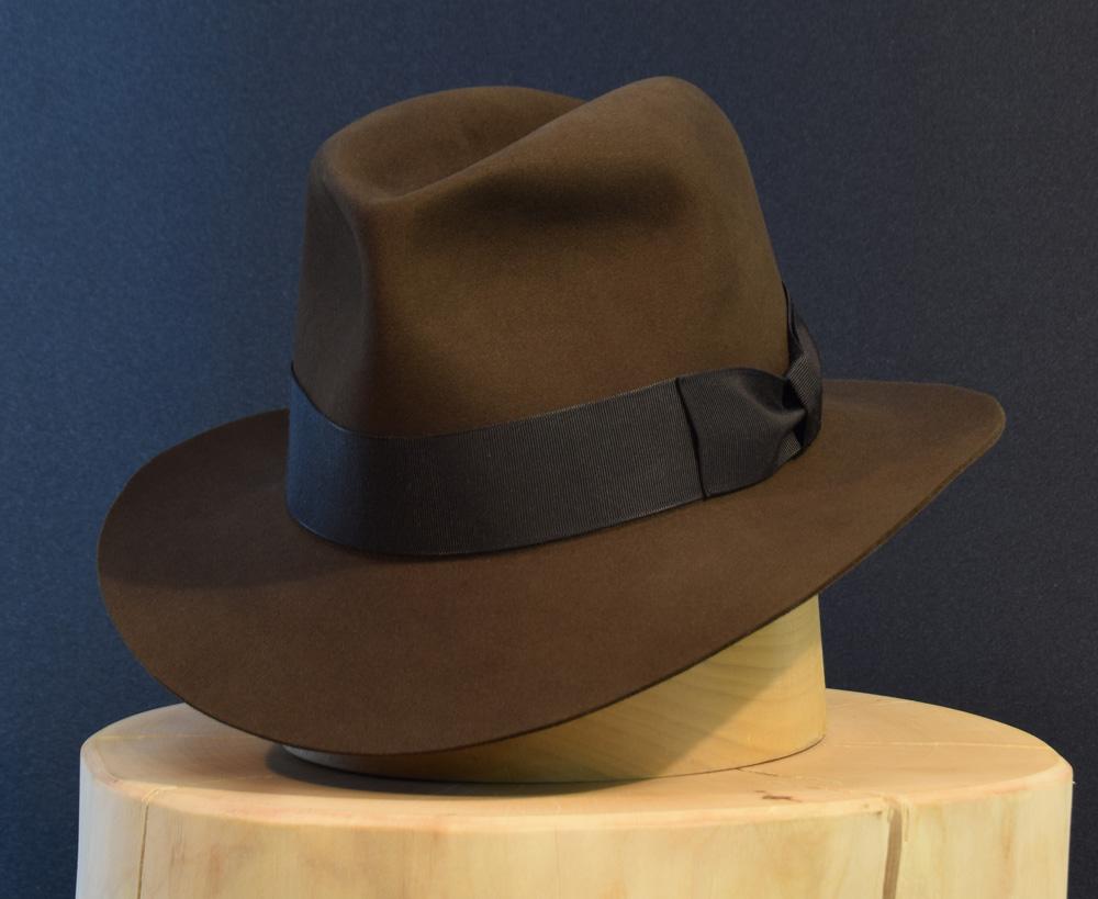 Custom bespoke Indiana jones like Fedora hut hat 2