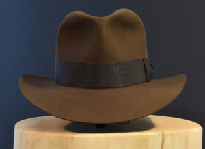 Custom bespoke Indiana jones like Fedora hut hat 1