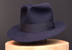Last Crusade Indiana Jones Fedora hat hut blue blau biber beaver