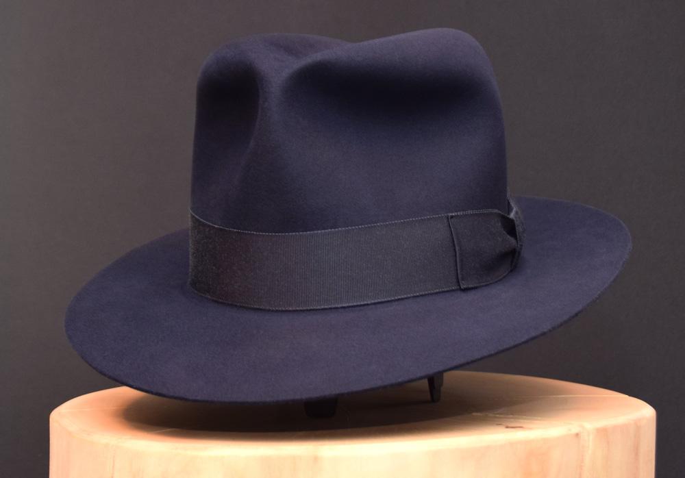 Last Crusade Indiana Jones Fedora hat hut blue blau biber beaver