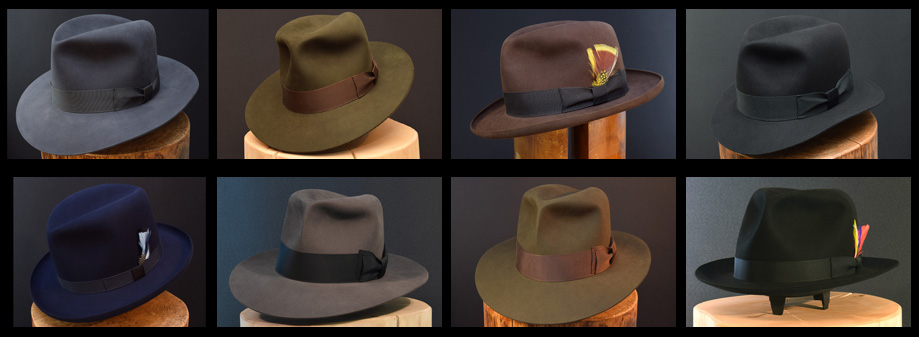 Custom Bespoke Fedora Hut Hat