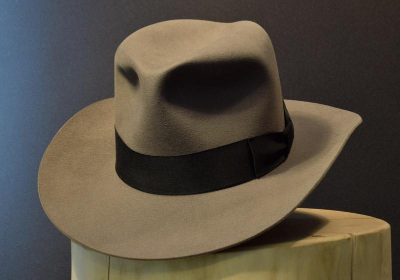 Western Fedora Hut Biber hat beaver 1