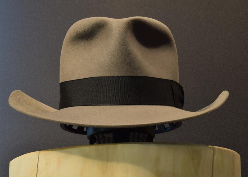 Western Fedora Hut Biber hat beaver 2