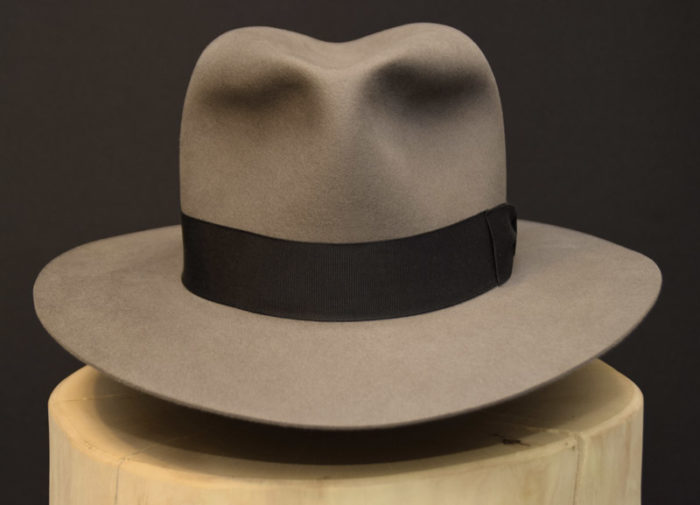 Western Fedora Hut Biber hat beaver 3