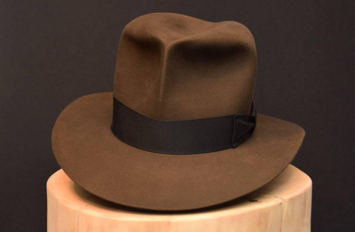 Raiders of the Lost ARk Fedora Hut Hat beaver biber turn 2 indiana jones