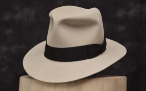 bone Beaver Fedora hut hat1