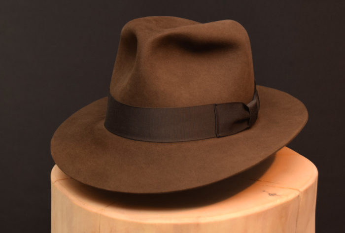 adVintage Kingdom fedora hut hat 13cm