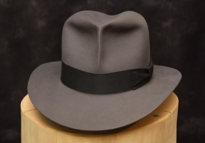 stone grey fedora hut hat raiders 1