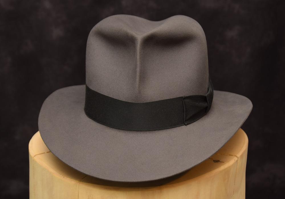 stone grey fedora hut hat raiders 1