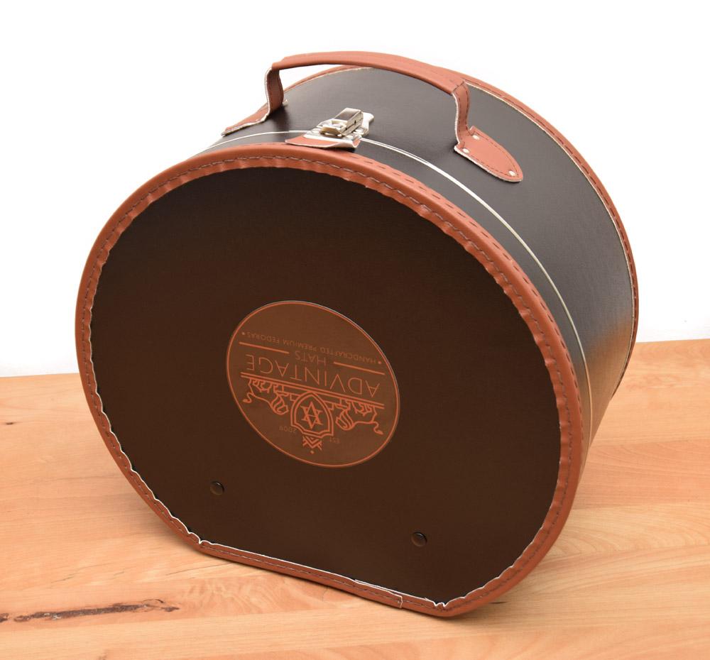 Hutkoffer Hutkarton Hutschachtel Hutbox mit Einlage von adVintage Fedora 4