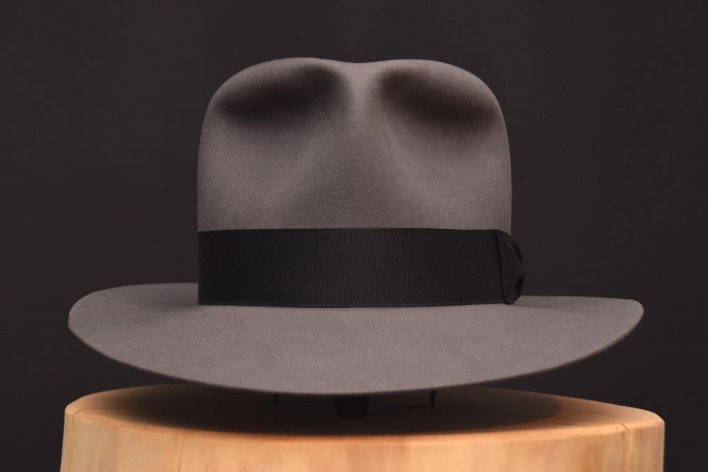 Indiana Jones Kingrom Crytsal Skull fedora Hut Hat grau grey 1