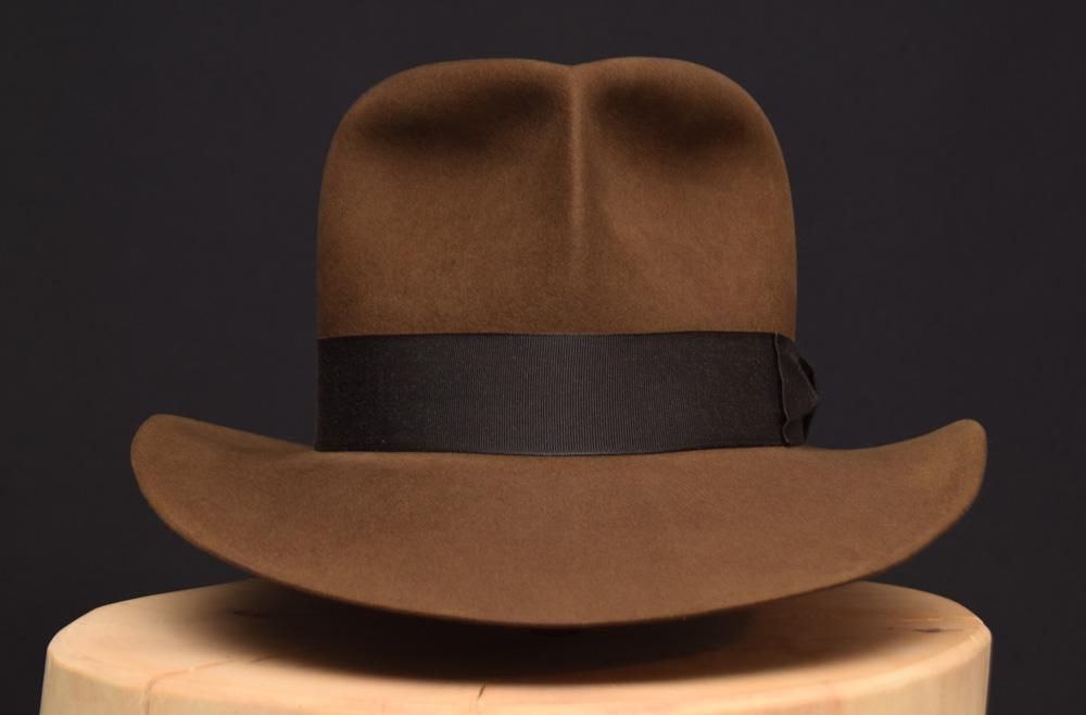 Raiders of the lost ark fedora hat hut sable beaver biber 1