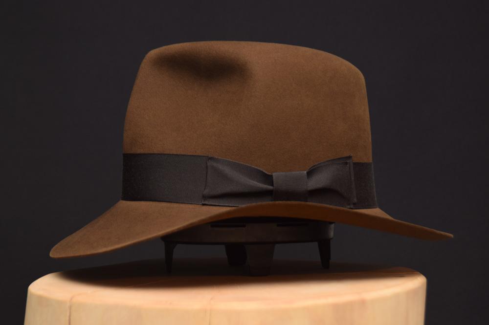 Raiders of the lost ark fedora hat hut sable beaver biber 3