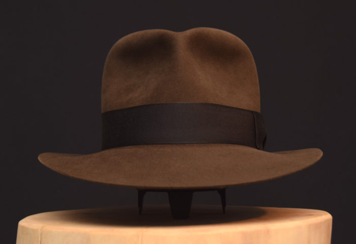 Short Last Crusade Fedora Hat hut sable Indiana jones