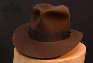 Indiana Jones Fedora Hut hat Last Crusade letzte Kreuzzg Treu Sable