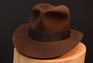 Indiana Jones Fedora Hut hat Last Crusade letzte Kreuzzg Treu Sable kl