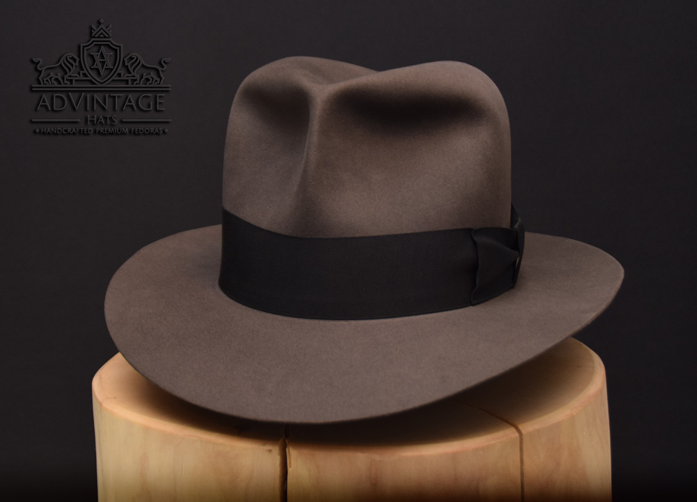 Indiana Jones Travel Clipper Fedora grey grau hat hat