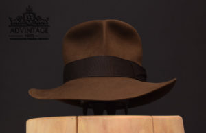 Streets of Cairo Indiana Jones Fedora hat hut sable 56cm